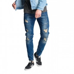 Just Rhyse Holbox Slim Fit Jeans Blue