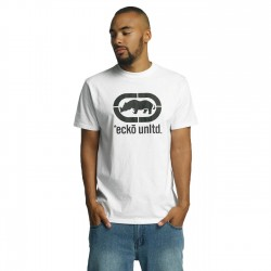 Ecko Unltd. John Rhino T-Shirt White/Black
