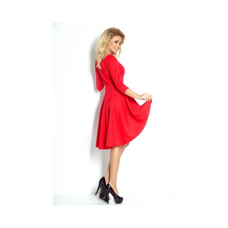 d8c82d63c37 NUMOCO šaty dámské 90-4 3 4 rukáv - AZ-MODA.CZ