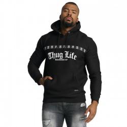 Thug Life Burn Hoody Black