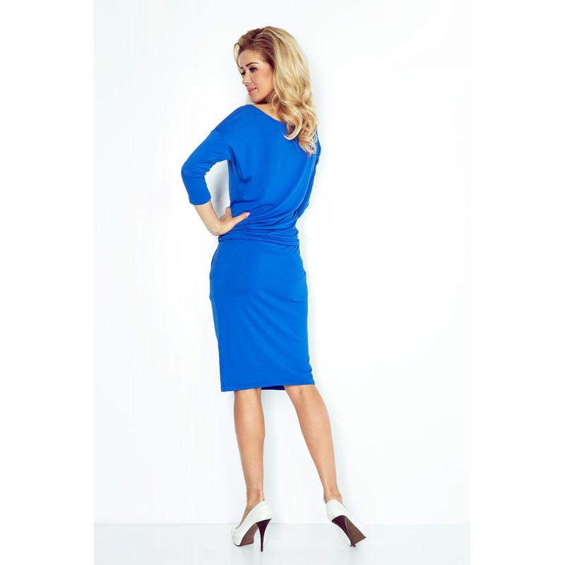 b1e6f2cee4bd NUMOCO šaty dámske 13-16 0 športové - modré - AZ-MODA.CZ
