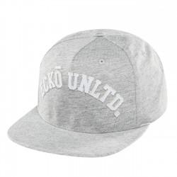Ecko Unltd. Melange College Snapback Cap Grey Melange
