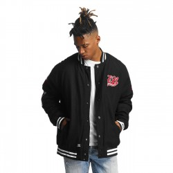 Ecko Unltd. Big Logo College Jacket Black
