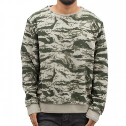 Rocawear / Pullover Sweatshirt in camouflage