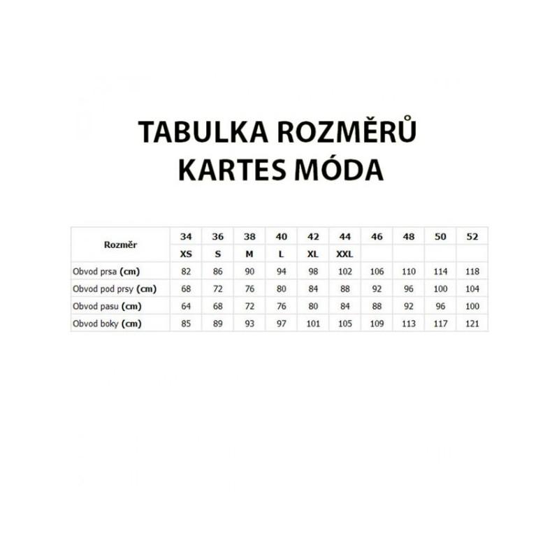 KARTES MODA šaty KM13 černé elagantní společenské MIDI - AZ-MODA.CZ 75dcbd8e94
