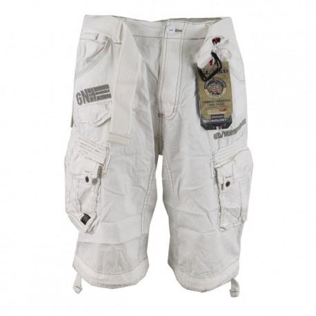GEOGRAPHICAL NORWAY kalhoty pánské PANORAMIQUE MEN BASIC 063 bermudy kapsáče 8e8a9fa5b5