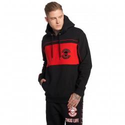 Thug Life / Hoodie Walk in black