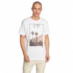 Just Rhyse / T-Shirt Paita in white
