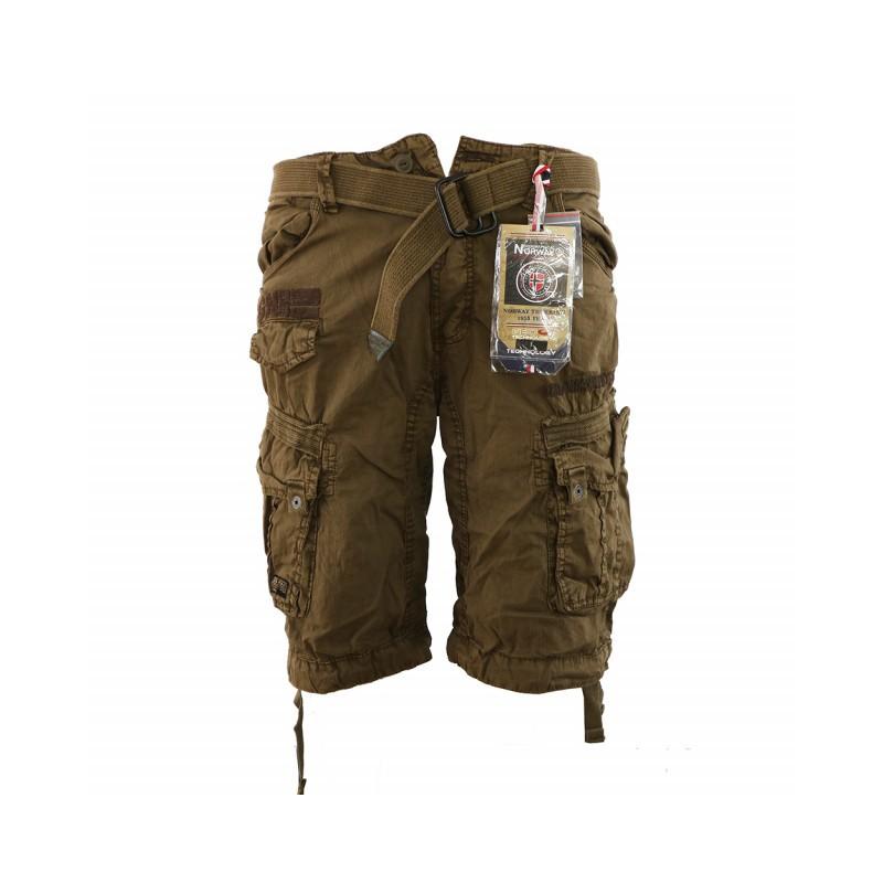 d6b52abd60fc GEOGRAPHICAL NORWAY kalhoty pánské PANORAMIQUE MEN BASIC 063 bermudy kapsáče  ...