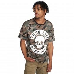 Thug Life / T-Shirt B. Camo in camouflage