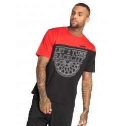 Dangerous DNGRS / T-Shirt Letswheel in black