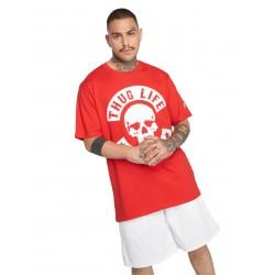 Thug Life / T-Shirt B.Skull in red