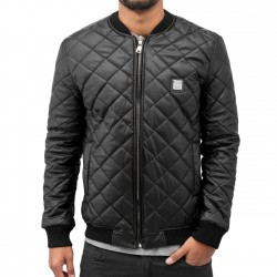 Dangerous DNGRS Quilt Jacket Black