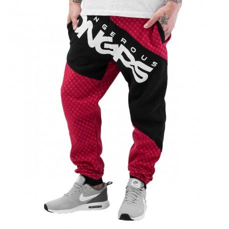 Dangerous DNGRS Toco Sweatpants Red/Black