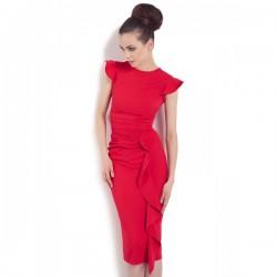 KARTES MODA šaty červené