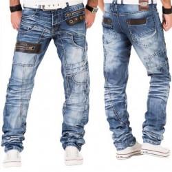 KOSMO LUPO kalhoty pánské KM012 jeans džíny