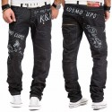 KOSMO LUPO nohavice pánske KM322-1 jeans džínsy