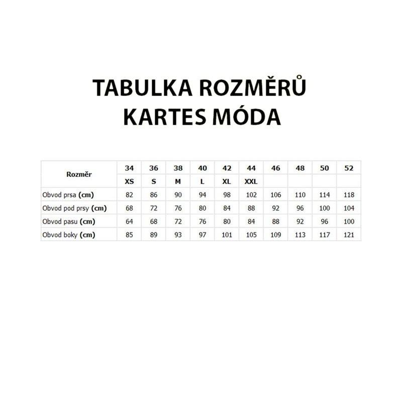40d6cf8b5d3a KARTES MODA šaty šifon obálkový výstřih - AZ-MODA.CZ