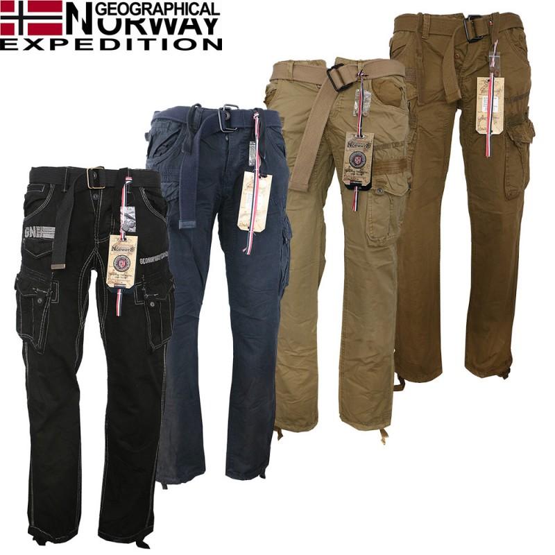 6d9b4d6cef44 GEOGRAPHICAL NORWAY nohavice pánske Panoramique PANT MEN 063 kapsáče ...