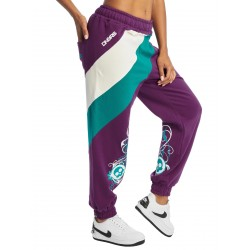 Dangerous DNGRS / Sweat Pant Skull in purple