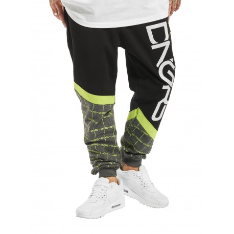 Dangerous DNGRS / Sweat Pant Woody in black