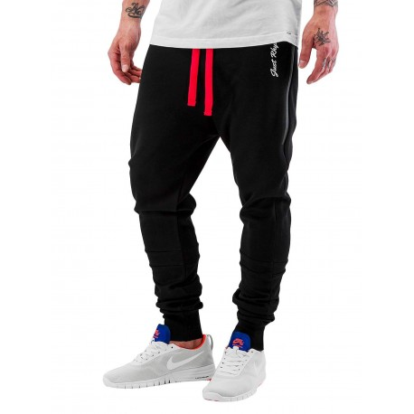 Just Rhyse / Sweat Pant Big Pocket Tech in black