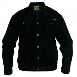 DUKE bunda pánska Western Style Trucker Denim džíska nadmerná veľkosť
