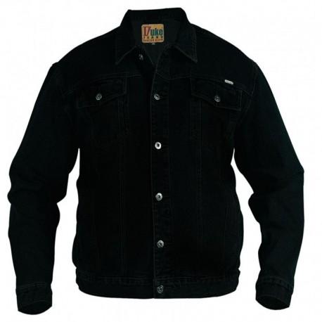 DUKE bunda pánská Western Style Trucker Denim džíska nadměrná velikost