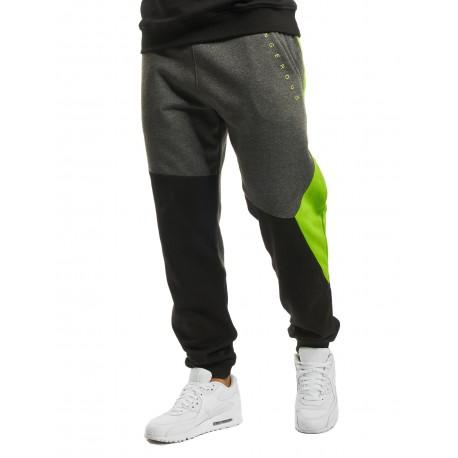 Dangerous DNGRS / Sweat Pant Cubix in black