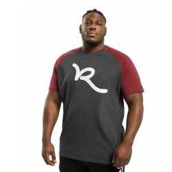 Rocawear / T-Shirt Big Raglan in red