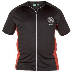 D555 tričko pánske SIMPSON cyklo za zips nadmerná veľkosť