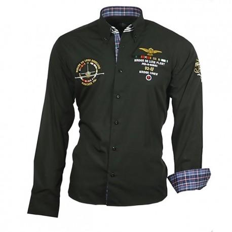 BINDER DE LUXE košile pánská 82101 dlouhý rukáv