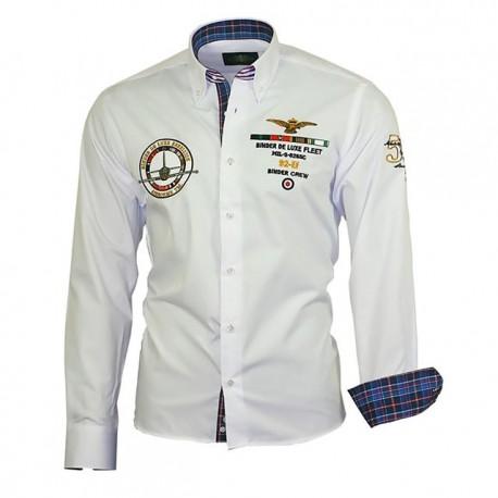 BINDER DE LUXE košile pánská 82102 dlouhý rukáv