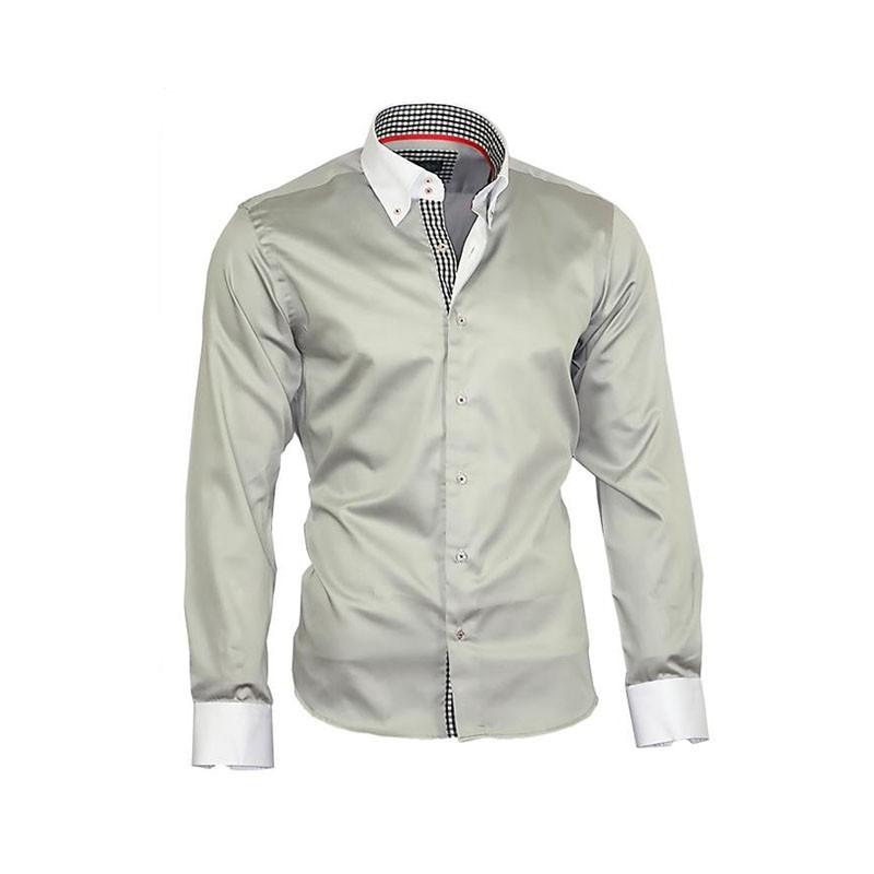 fbc523ee5d1 BINDER DE LUXE košile pánská luxusní 80803 satén