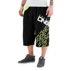 Dangerous DNGRS Swig Sweat Shorts Black/Lime Green