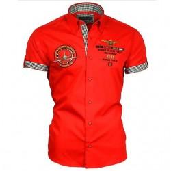 BINDER DE LUXE košile pánská krátký rukáv