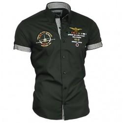 145a04406aac BINDER DE LUXE košile pánská 82607 krátký rukáv