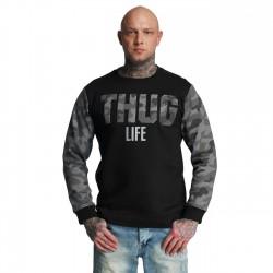 Thug Life Zombi Sweatshirt Grey