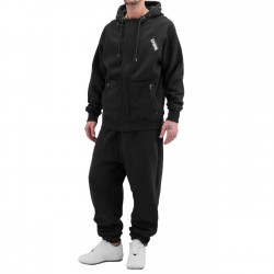 Dangerous DNGRS Rock Sweat Suit Jet Black