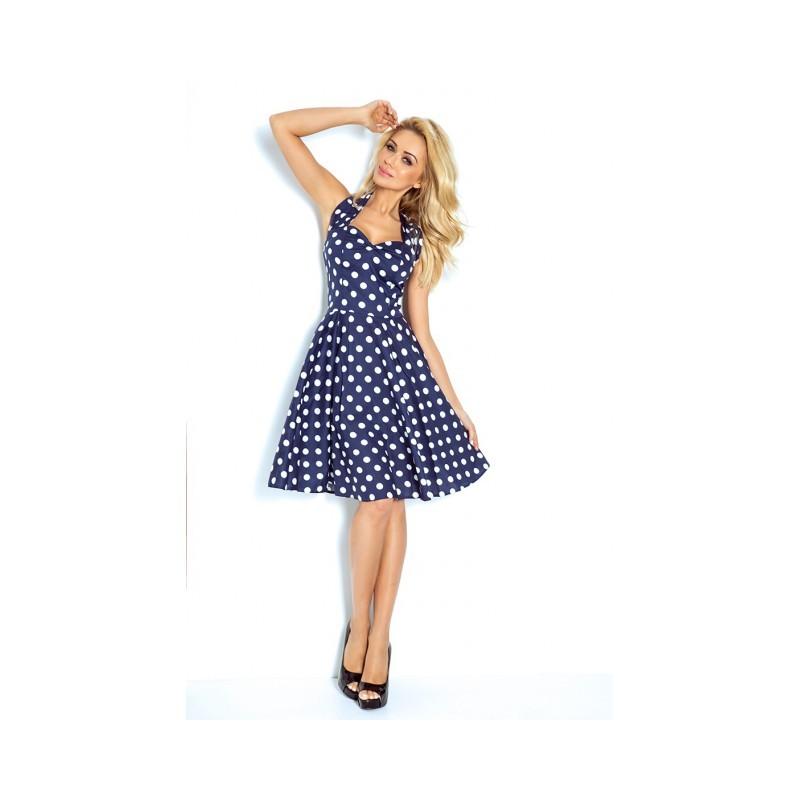 6403aa2ede55 NUMOCO šaty dámské ROCKABILLY PIN UP 30-13 - AZ-MODA.CZ