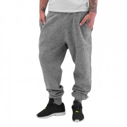 Just Rhyse Speckle Sweat Pants Grey Melange