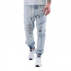 Just Rhyse Luke Antifit Jeans Light Blue Denim
