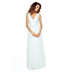 Společnské šaty z tylu a krajky